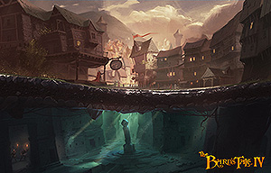 Concept art for The Bard's Tale IV